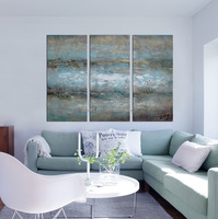 modern scenery art painting on canvas
