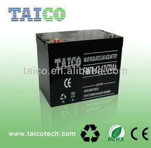 Maintenance free high quality 12V 70Ah rechargeable VRLA AGM battery