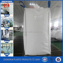 100% pp woven ton bag 1000kg FIBC super sacks for sand cement and chemical,1 ton pp woven big bag jumbo bag factory in ZR FIBC