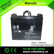 exide 12v battery, 12v33ah maintenance free UPS battery China suppliers