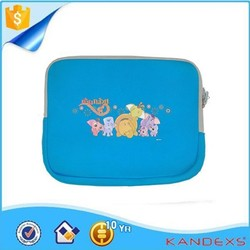 2015 Fashionable Cartoon waterproof neoprene laptop sleeve case for IPAD