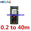 Mini laser medidor de distância 40 m instrumento de medição de distância de longa distância dispositivo de escuta