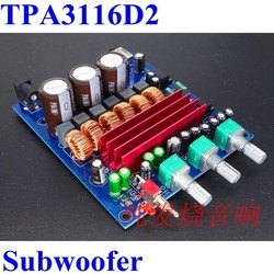 2.1 channel HIFI Sound Digital Car Amplifier Subwoofer Module Circuit Boards TPA3116D2 ,2X50+100W