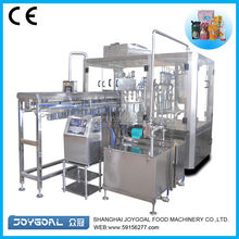 Automatic rotary bag packing machine for spout bags for onion and garlic paste best quality packaging machines leading supplier