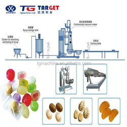 STANDARD SPECIFICATION TOUCH SCREEN FULL AUTOMATIC DIE--FORMED BOILED HARD CANDY PRUDUCTION LINE FOR SALE