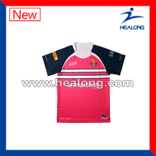 baratos sublimada camisetas de rugby para la venta