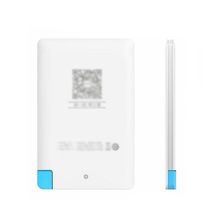 SO esay and convenient power bank! Charmpie 2015 new product wallet battery charger