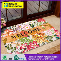 2015 new product fashion vans print shoe cleaning microfiber door mat, Festival gift floor mat
