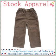 100%cotton corduroy trousers kids boys fashion pant wholesale alibaba pants