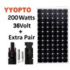 200w solar panel mono solar pv module Factory Direct with CE,ISO,TUV,CQC certifications
