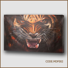 Hot sales new product of modern abstract painting /Tiger painting