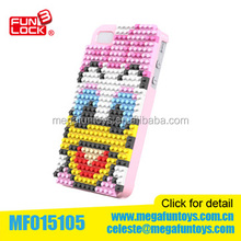 Daisy Duck Iphone 5S phone case Diamond blocks toys