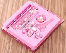 student,school stationery ,Students cartoon design tin pen holder set ,kids student school pens,,Promotional Cheap School Office