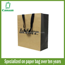 Fashionable cheapest leopard printed paper bag gift