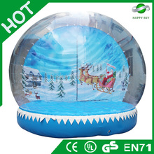2015 Brand New Design Hot sale christmas Snow ball, White christmas commodity, inflatable rudolph