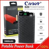 Portable Original Cager Smart S20 Power Bank 10000 mAh Full Capcity
