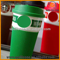 silicone coffee mug covers silicon coffee cup sleeve