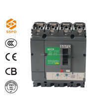 CNSV-250/4P 250A high quality ,high request MCCB circuit breaker alang ship breaking yard