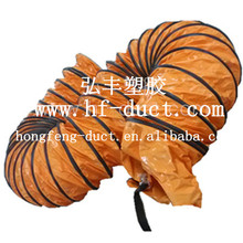 fire resistant and good quality portable blower flexible air duct made in china