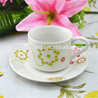 Factory directly sell porcelain cup&saucer,ceramic coffee&tea set
