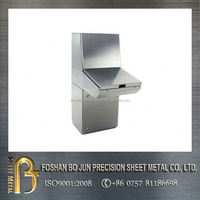 Alibaba chinese precision manufacturing custom made stainless steel control console enclosures manufacture