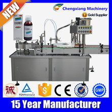 Automatic liquid vial filling with plugging,liquid stainless steel filling and sealing machine,filling and sealing machine