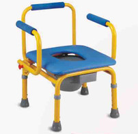 Rehabilitation Therapy Supplies Topmedi TCM813(s) height adjustable baby commode chair for children
