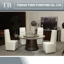 High quality Iran natural travertine dining table