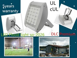 led soccer flood light Bridgelux chip,UL/DLC/LM79/,slushing