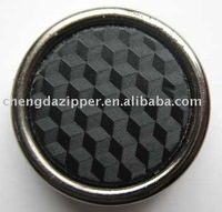 GARMENT BUTTON,PU BUTTON, LEATHER BUTTON