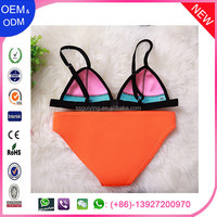Swimwear OEM custom beach beauty young girl 2015 hot sex bikini