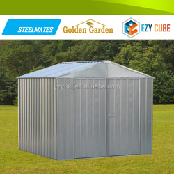 garden shed 2015 best selling prefab house with galvanized metal garden