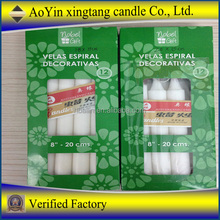 Wholesale brand candle white candle for Africa