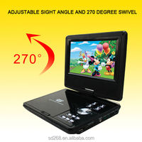 """7"""" Portable DVD Player 7IN1 TV Tuner/VGA/Game/Card Reader/USB/MPEG4"""
