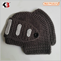 made in china knitted knight helmet hat free knitted pattern
