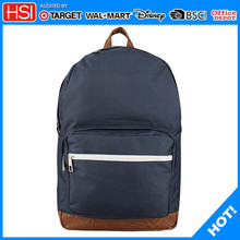 BSCI audited free sample cost polyester trendy school bag