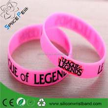 silk screen printing silicone bracelets, imprint silicone wristbands,I Love Jesus rubber silicone wristbands