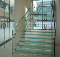 Tempered Glass Stairs Tread Factory Tempered Glass Stairs Tread