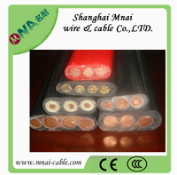 450V/750 Flat rubber cable for overhead crane with competitive price