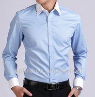 white brand name men dress shirts