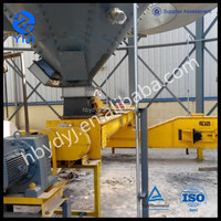 Small grain auger for food industry