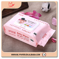 China OEM ODM Cheap Soft Wet Baby Wipes Brands Skin Care Products Factory