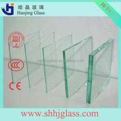 factory 1.0mm/1.1mm/1.2mm/2.0mm-6.0mm Standard Clear Sheet/Float Panels Glass Cut Size