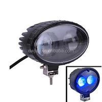 Waterproof 8W 1000lm Blue Light Spot Beam LED Car Warning Light beam spot wash 3 in 1 moving head light