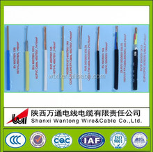 PVC insulated electric wires flat electrical wire waterproof electrical wires