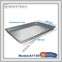 Aluminum Oven Baking Pan Cooking Tray Bakers Gastronorm Trolley