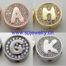 single letter alphabet beads