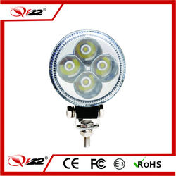 Cheap 12W 3inch 10-30v LED Work Lights for Three Wheel Motorcycle