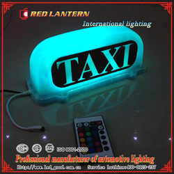 New Neon TAXI Sign