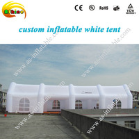 white advertising large inflatable tent